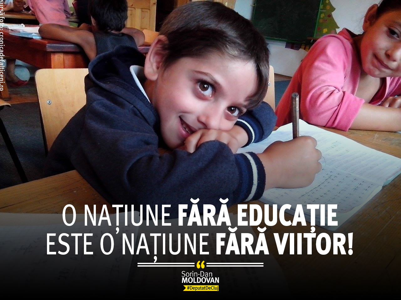 fara educatie, fara viitor